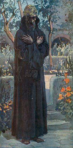 Joel. Illustration for The Old Testament - Part II (Brunoff, 1904).