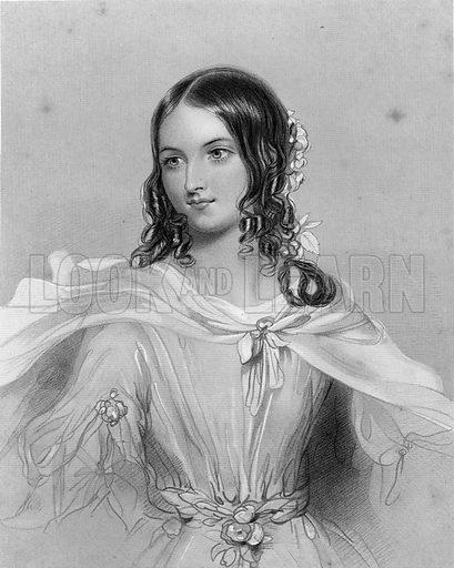 Perdita.  Illustration for The Complete Works of Shakespeare (John G Murdoch, 1876).