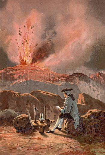 Spallanzani upon Etna, picture, image, illustration