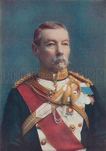 Lieutenant-General Sir Drury Drury-Lowe. Colonel of the 17th Lancers. Illustration for Celebrities of the Army edited by Charles Robinson (George Newnes, 1900).