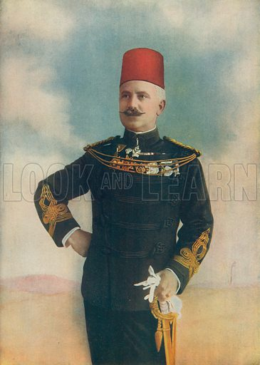 Brevet-Col. Sir Francis Reginald Wingate. Governor-General of the Soudan. Illustration for Celebrities of the Army edited by Charles Robinson (George Newnes, 1900).