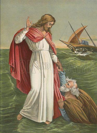 Peter Walking on the Sea
