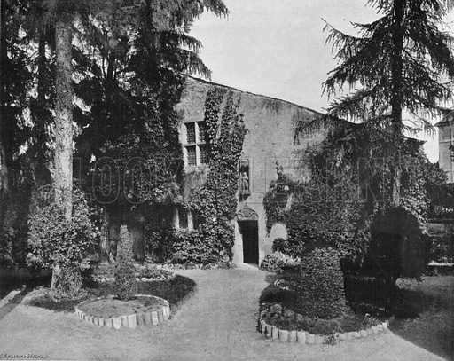 La Maison de Jeanne D'Arc a Domremy. Photograph for Le Panorama Merveilles de France (De Neurdein, c 1895).