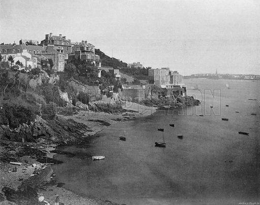 Dinard - Bric-a-Brac. Photograph for Le Panorama Merveilles de France (De Neurdein, c 1895).