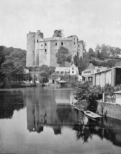 Le Chateau de Clisson. Photograph for Le Panorama Merveilles de France (De Neurdein, c 1895).