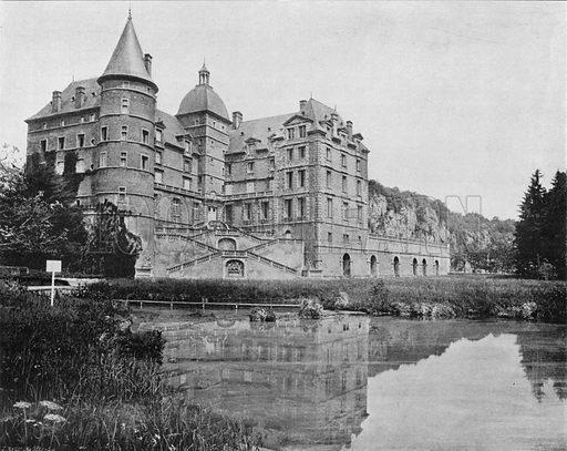 Le Chateau de Vizille. Photograph for Le Panorama Merveilles de France (De Neurdein, c 1895).