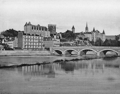 Pau. Photograph for Le Panorama Merveilles de France (De Neurdein, c 1895).