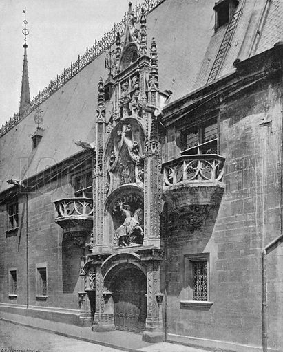 Nancy – Porte du Palais Ducal. Photograph for Le Panorama Merveilles de France (De Neurdein, c 1895).