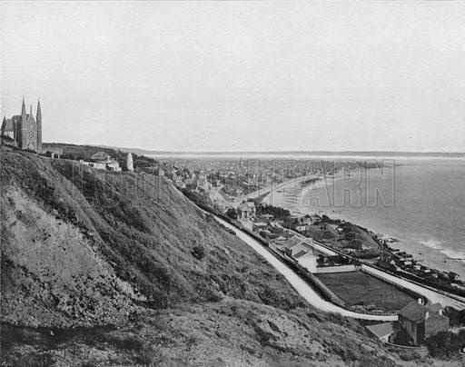 Sainte-Adresse et L'Embouchure de la Seine. Photograph for Le Panorama Merveilles de France (De Neurdein, c 1895).