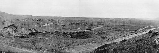 Le Desert du Sahara. Photograph for Le Panorama Merveilles de France (De Neurdein, c 1895).
