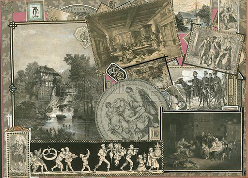 Page from Sammelsurium Volume XI.