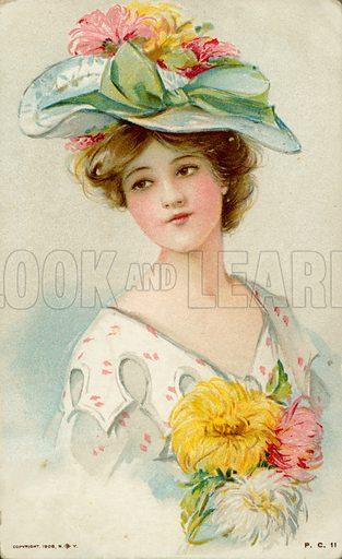 Glamour postcard.