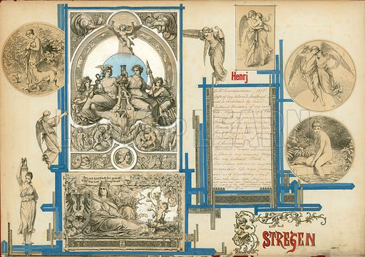 Page from Sammelsurium Volume I.