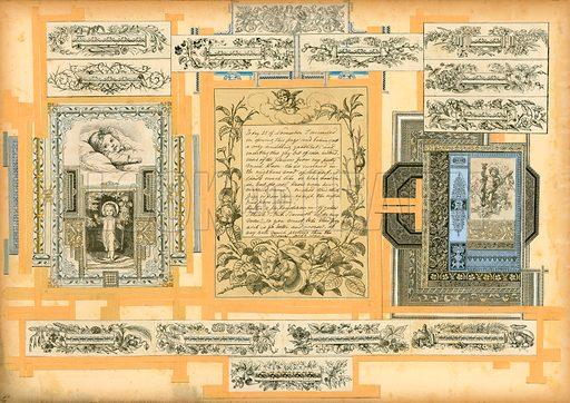Page from Sammelsurium Volume I.