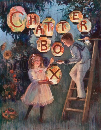 Out Feast of Lanterns. Illustration for Chatterbox annual (Wells Gardner, early 20th century).