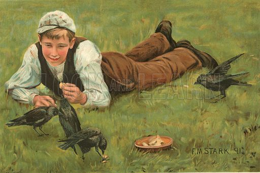 Messmates.  Illustration for The Boy's Own Annual (1897).