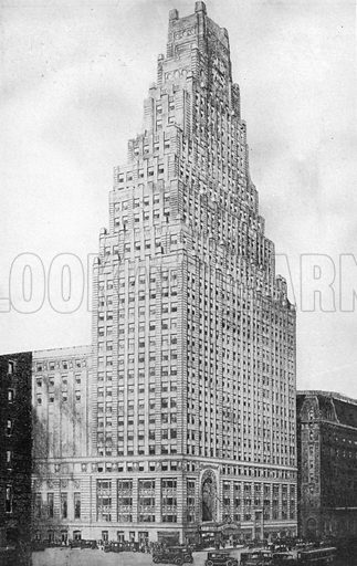 The Paramount Broadway Building. Photograph from New York Illustrated (c 1925).