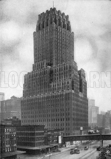 The West Street Building. Photograph from New York Illustrated (c 1925).
