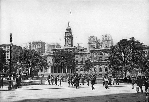 City Hall. Photograph from New York Illustrated (c 1925).