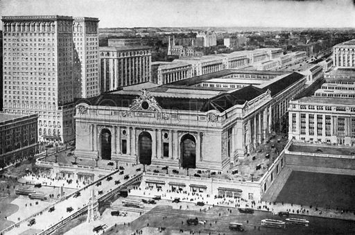 Grand Central Terminal. Photograph from New York Illustrated (c 1925).
