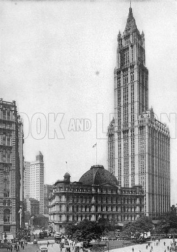 Woolworth Building. Photograph from New York Illustrated (c 1925).