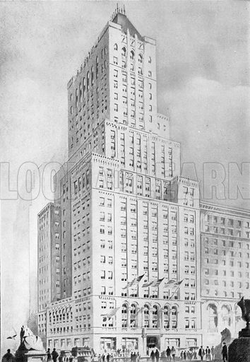 The Farmers' Loan and Trust Co Building. Photograph from New York Illustrated (c 1925).