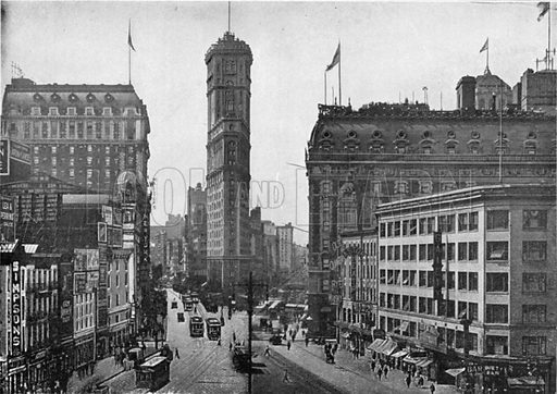 Times Square. Photograph from New York Illustrated (c 1925).