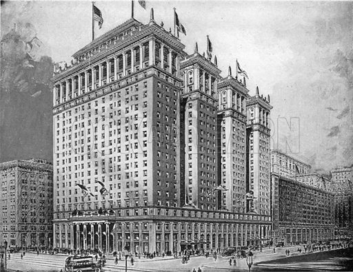 Image result for hotel pennsylvania history