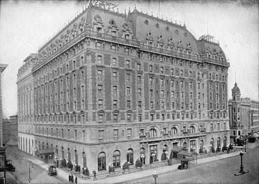 Hotel Astor. Photograph from New York Illustrated (c 1925).