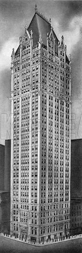 Liberty Tower. Photograph from New York Illustrated (c 1925).