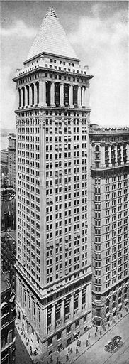 Bankers Trust Company Building. Photograph from New York Illustrated (c 1925).