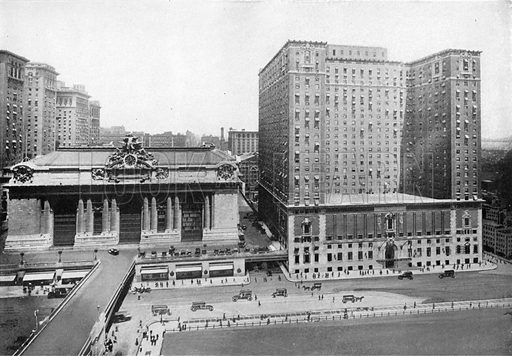 Hotel Commodore. Photograph from New York Illustrated (c 1925).