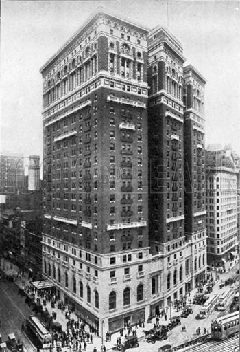 Hotel McAlpin. Photograph from New York Illustrated (c 1925).