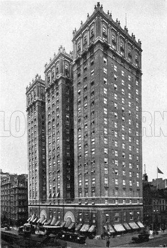 Hotel Vanderbilt. Photograph from New York Illustrated (c 1925).