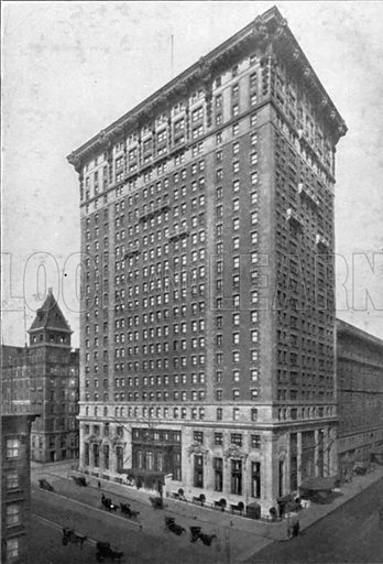 Belmont Hotel. Photograph from New York Illustrated (c 1925).