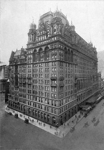 Waldorf-Astoria. Photograph from New York Illustrated (c 1925).