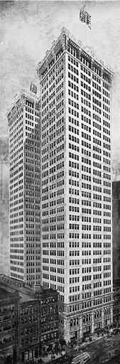 Adams' Building. Photograph from New York Illustrated (c 1925).