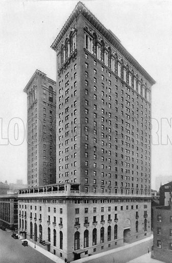 Hotel Biltmore. Photograph from New York Illustrated (c 1925).
