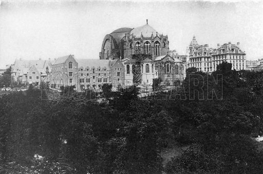 Cathedral of St John the Divine. Photograph from New York Illustrated (c 1925).