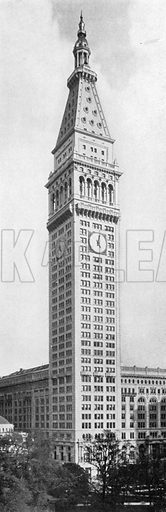 Metropolitan Life Insurance Building. Photograph from New York Illustrated (c 1925).