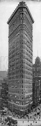 Flat Iron Building. Photograph from New York Illustrated (c 1925).