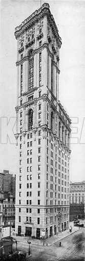 Times Building. Photograph from New York Illustrated (c 1925).