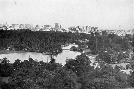 General View of Central Park. Photograph from New York Illustrated (c 1925).