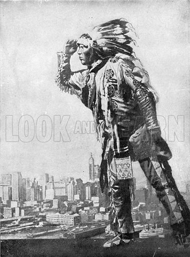 New York Illustrated. Photograph from New York Illustrated (c 1925).