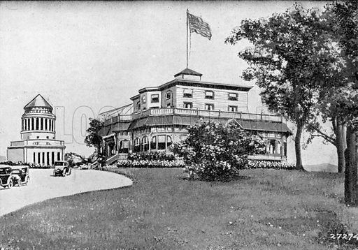 Claremont Restaurant. Photograph from New York Illustrated (c 1925).