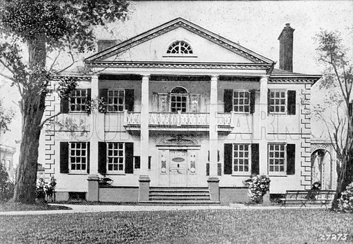 The Jumel Mansion. Photograph from New York Illustrated (c 1925).