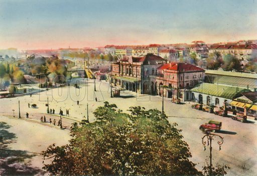 Torino – Stazione Porta Susa. Photograph from Ricordo di Torino (c 1930).