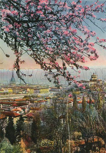 Torino – Panorama. Photograph from Ricordo di Torino (c 1930).