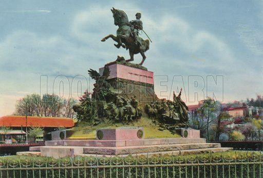 Torino – Monumento al Principle Amedeo. Photograph from Ricordo di Torino (c 1930).