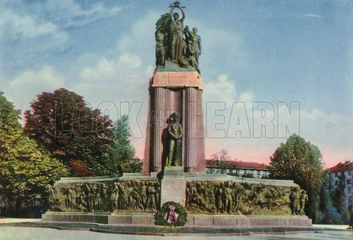 Torino – Monumento al Carabiniere. Photograph from Ricordo di Torino (c 1930).